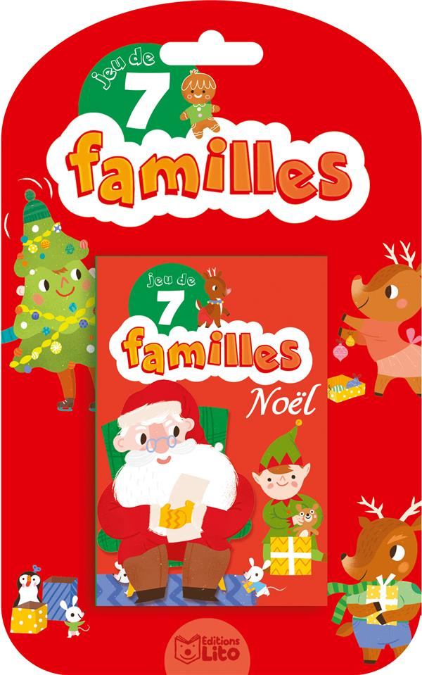Jeux de 7 familles ; jeu de 7 familles ; Noël