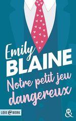 Vente Livre Numérique : Notre petit jeu dangereux  - Emily Blaine
