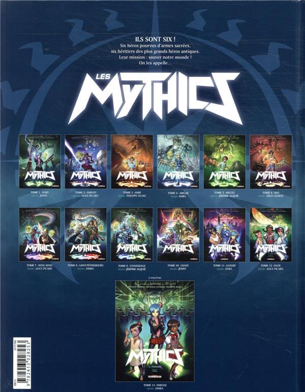 Les Mythics t.12 ; envie