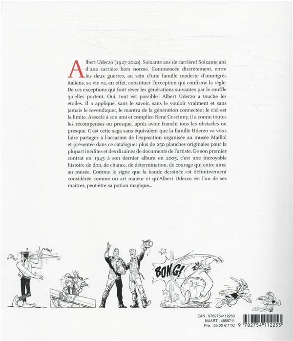 Uderzo, comme une potion magique ; catalogue d'exposition Musée Maillol