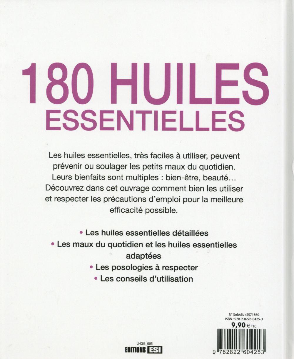 180 huiles essentielles