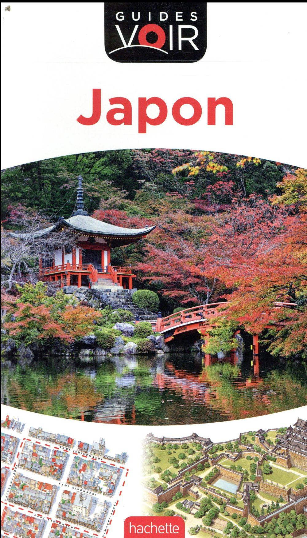 COLLECTIF HACHETTE - GUIDES VOIR  -  JAPON