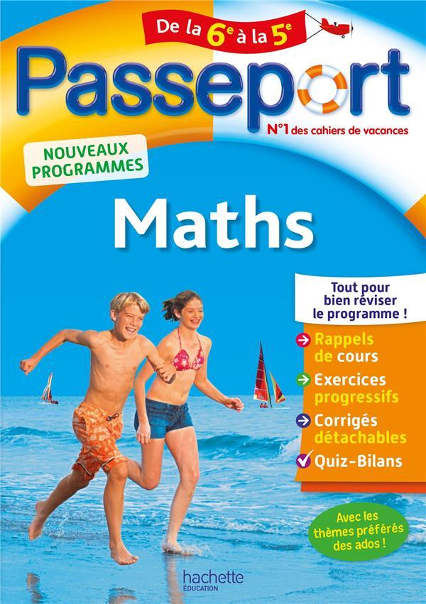 passeport ; maths ; de la 6e à la 5 e