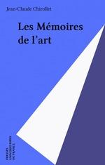 Vente Livre Numérique : Les Mémoires de l'art  - Jean-Claude Chirollet