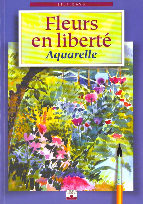 Fleurs en liberte aquarelle