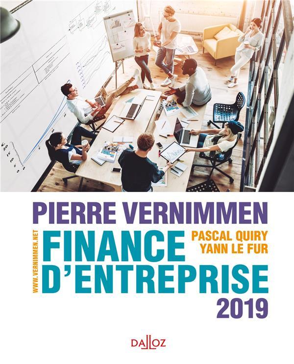 Finance d'entreprise (édition 2019)
