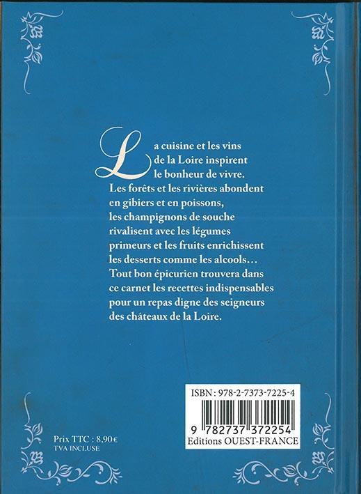 Carnet de recettes des châteaux de la Loire