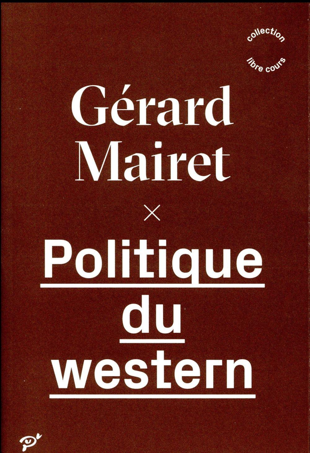 Politique du western