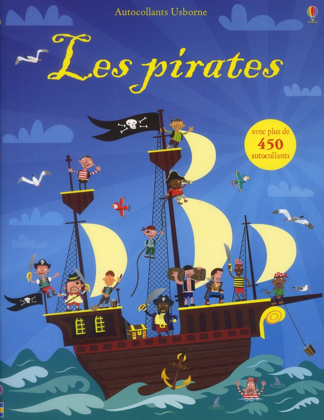 les pirates ; autocollants Usborne