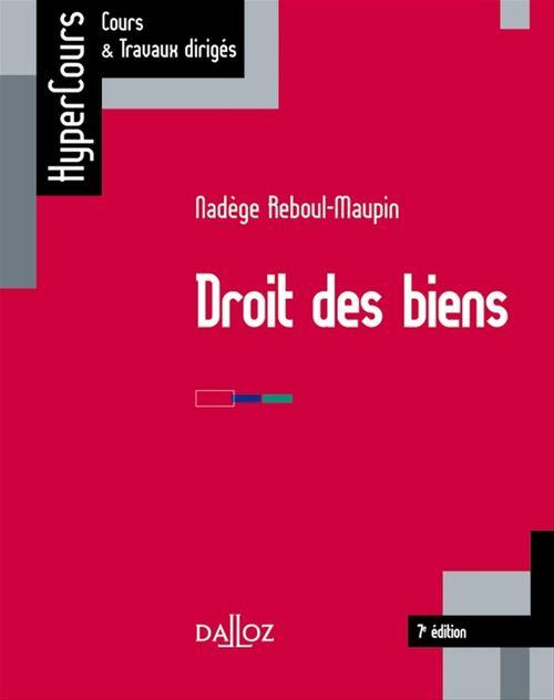 Droit des biens (7e édition)