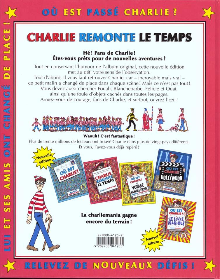 Où est Charlie ? ; Charlie remonte le temps