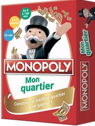 Monopoly ; mon quartier ; construis le meilleur quartier pour gagner !