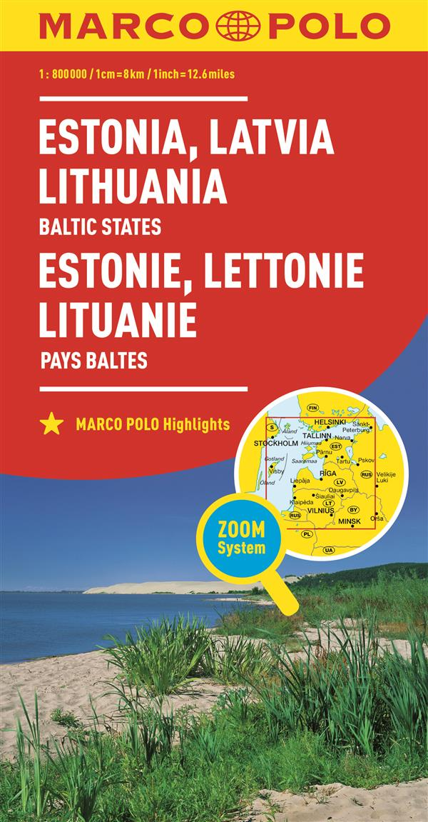 Estonie, Lettonie, Lituanie ; pays baltes