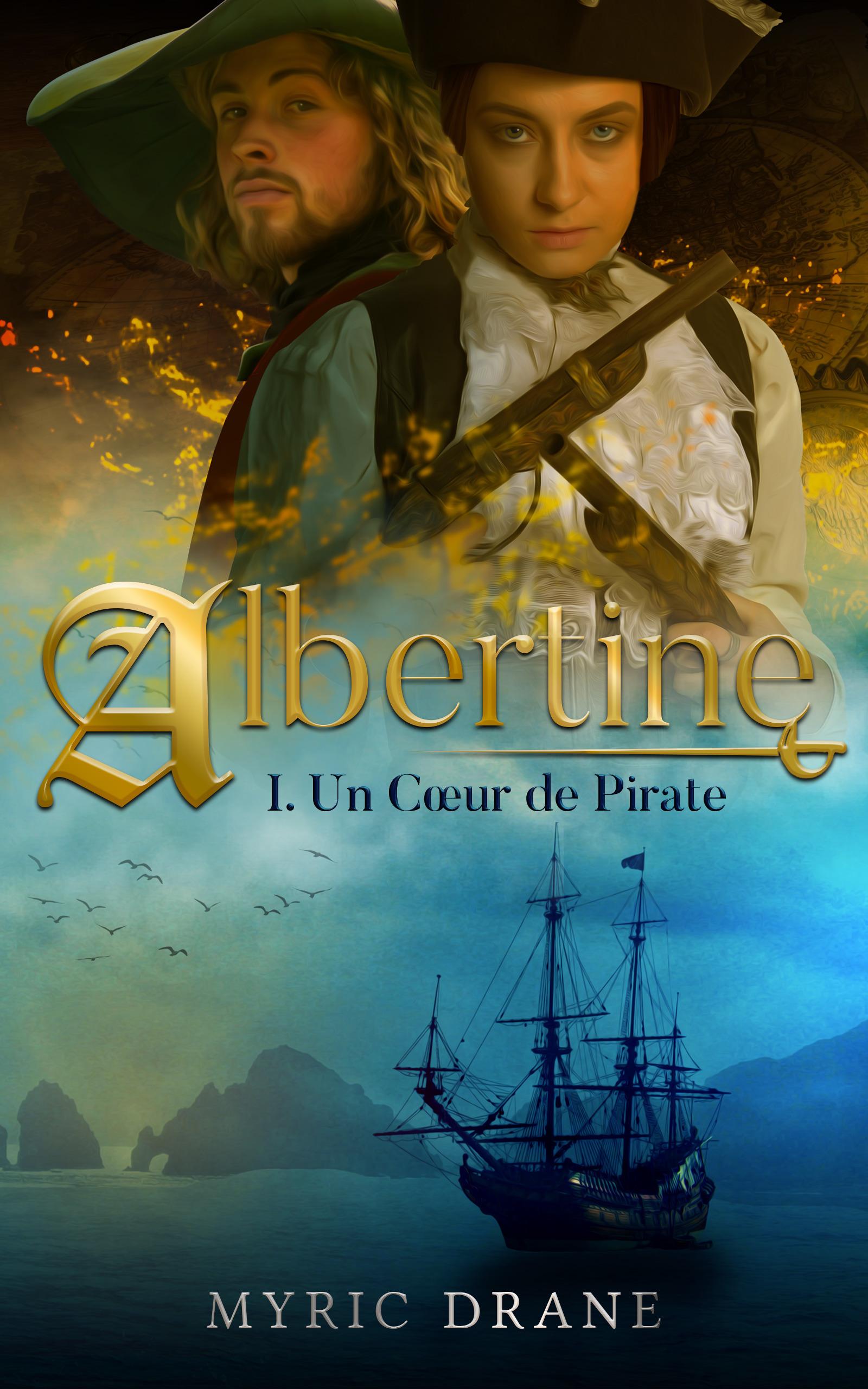 Albertine T1 : Un Coeur de Pirate