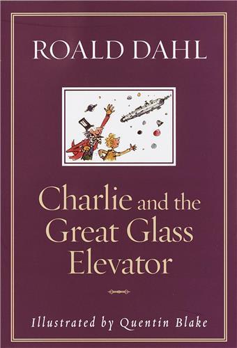 Roald dahl charlie and the great glass elevator /anglais
