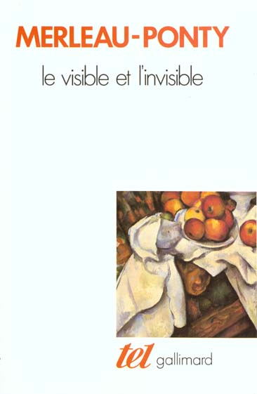 Le visible et l'invisible ; notes de travail