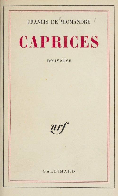 Caprices poemes