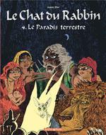 Couverture de Le Chat Du Rabbin - T04 - Le Chat Du Rabbin  - Le Paradis Terrestre