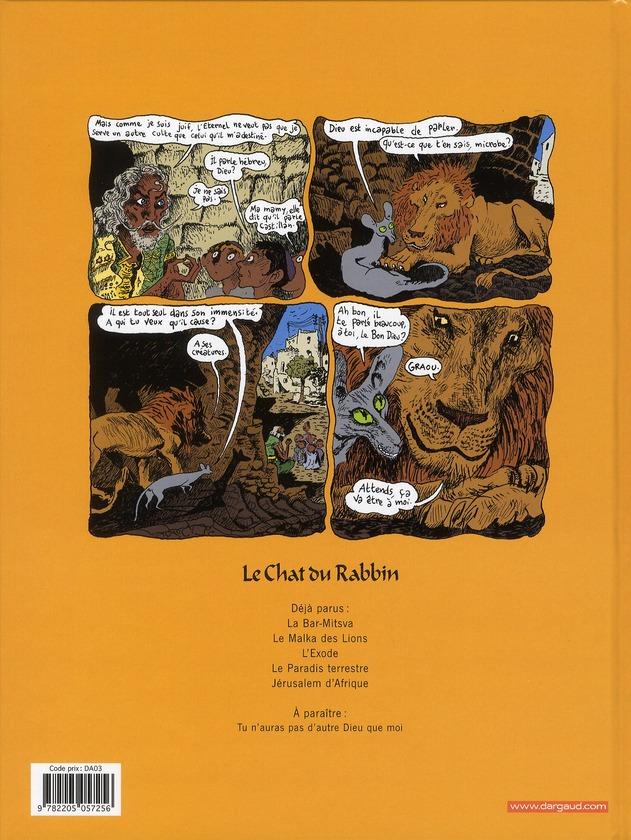 le chat du rabbin t.4 ; le paradis terrestre