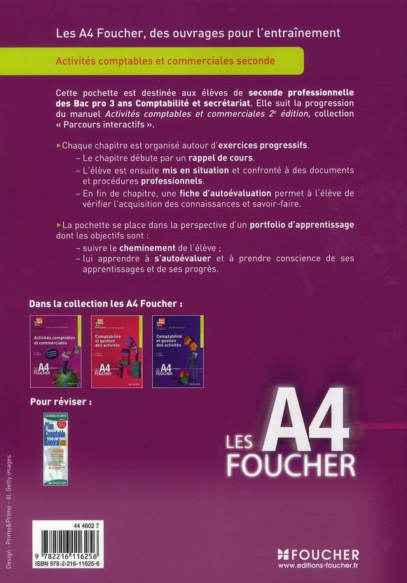 Activites Comptables Et Commerciales 2nde Bep 2e Edition Luc Fages Foucher Grand Format Espace Culturel Leclerc St Leu