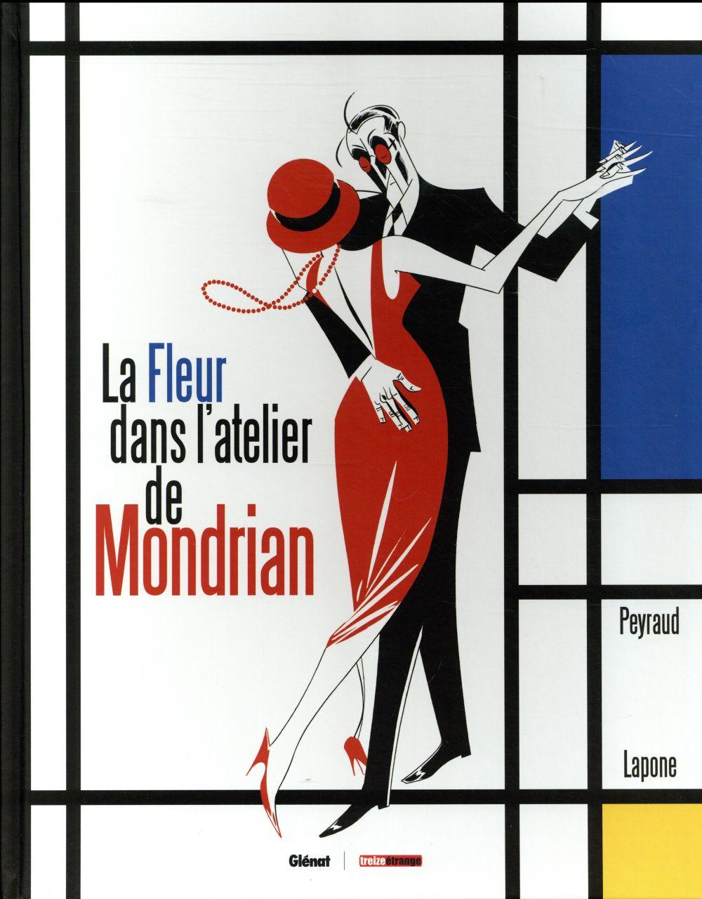LES GRANDS PEINTRES ; la fleur dans l'atelier de Mondrian