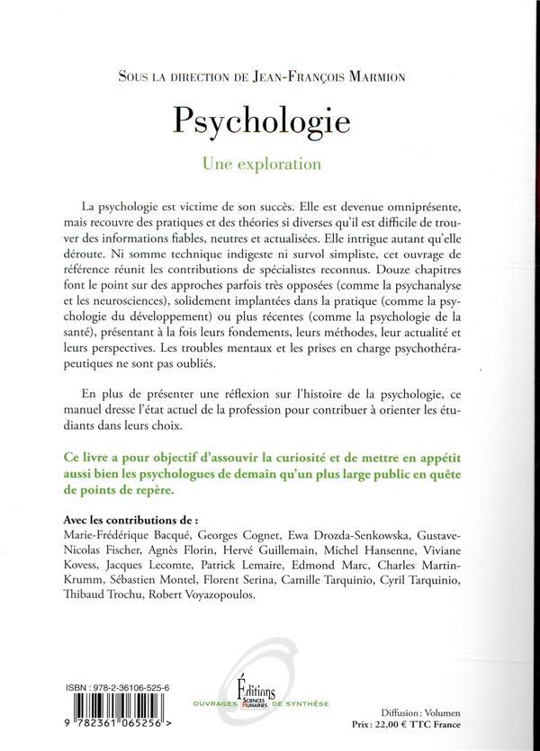 Psychologie ; une exploration