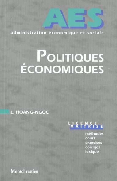 Politiques Economiques
