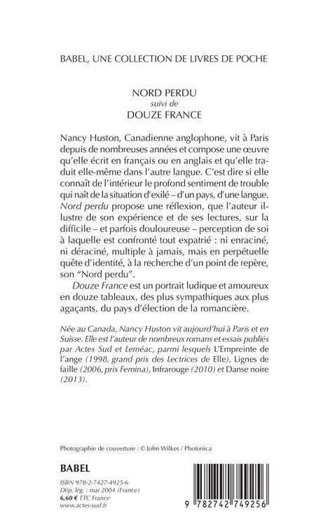 nord perdu ; douze France