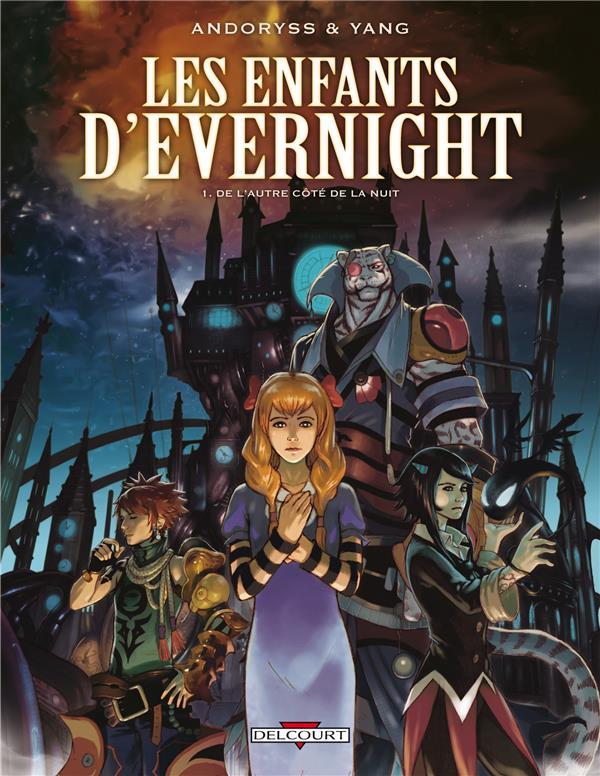 Les enfants d'Evernight T.1 ; de l'autre côté de la nuit