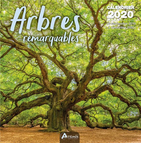 calendrier arbres remarquables