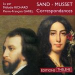 Vente AudioBook : Correspondances Sand - Musset  - George Sand