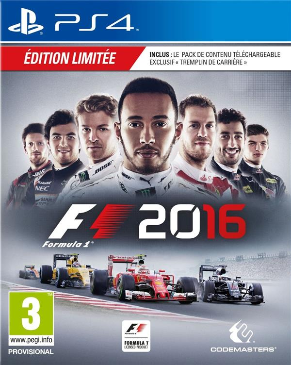 F1 2016 - édition day one