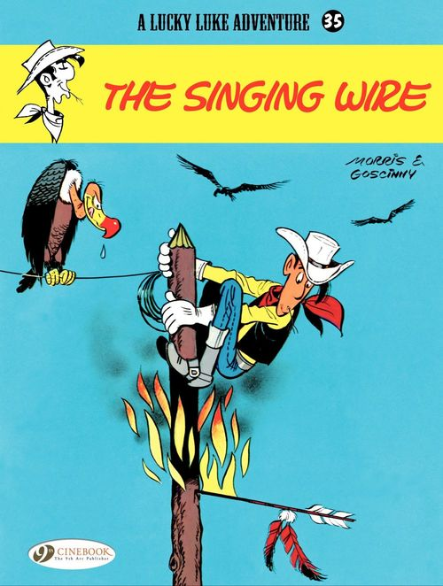 Lucky Luke T.35 ; the singing wire