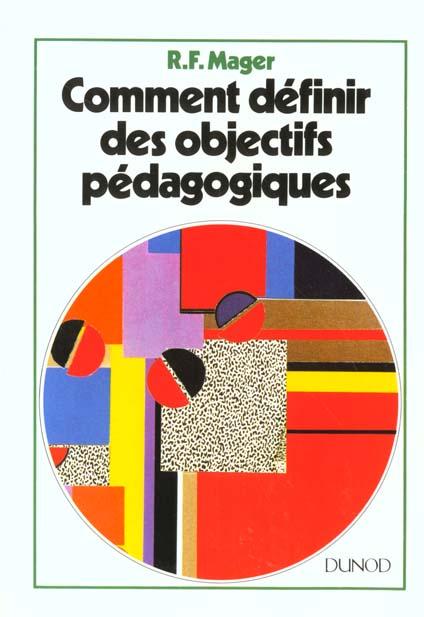 Comment definir des objectifs pedagogiques