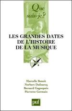 Vente EBooks : Les grandes dates de l'histoire de la musique (6e édition)  - Marcelle Benoit - Bernard Gagnepain - Norbert Dufourcq - Pierrette Germain-David