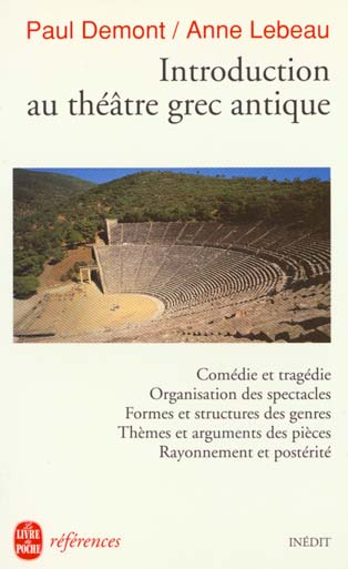 Introduction Au Theatre Grec Antique