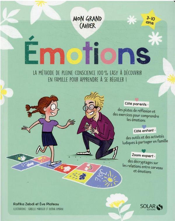 MON P'TIT CAHIER ; mon grand cahier des émotions