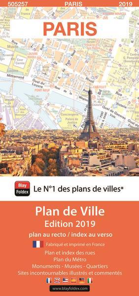 Paris plan (édition 2019)