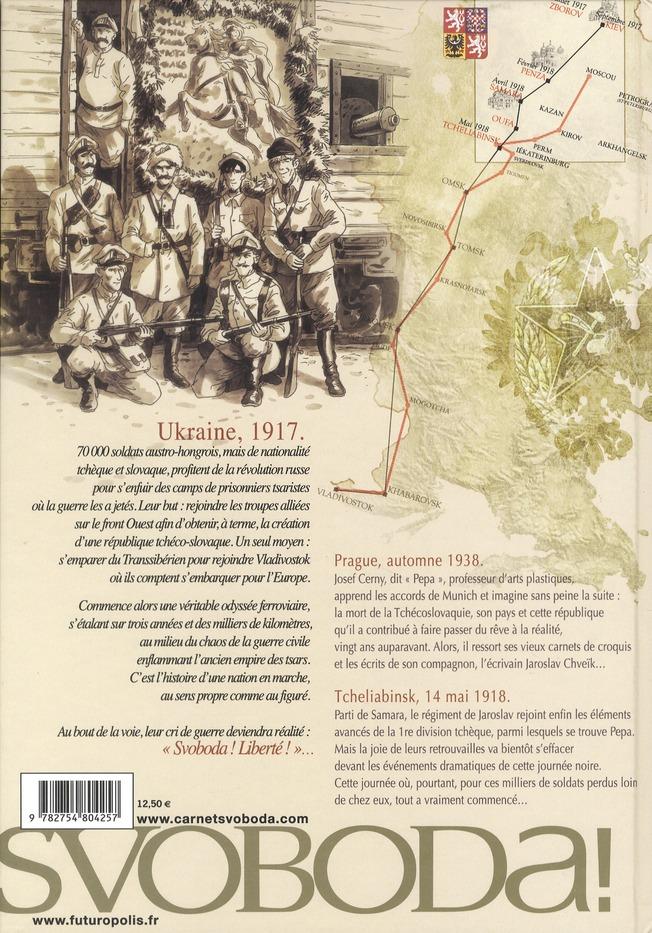 Svoboda t.1 ; de Prague à Tcheliabinsk