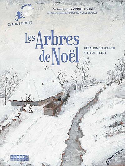 les arbres de Noël ; Claude Monet