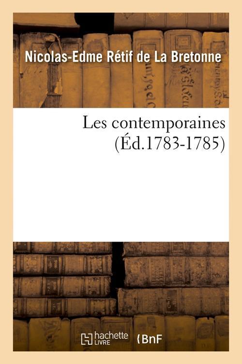 Les contemporaines (ed.1783-1785)