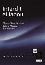 Vente EBooks : Interdit et tabou  - Hélène Parat - Marie-Claire Durieux - Félicie Nayrou