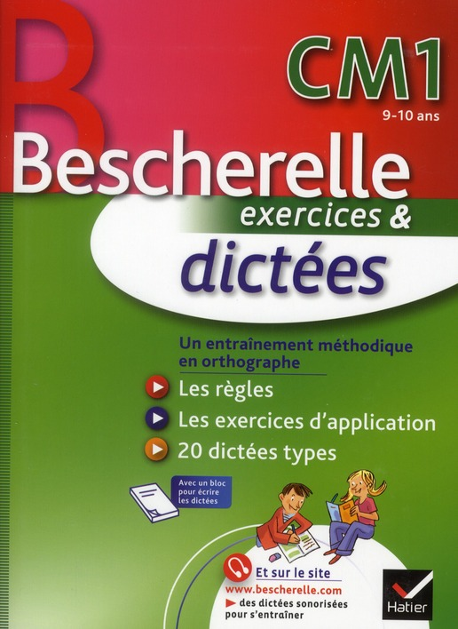Bescherelle ; Dictees ; Cm1 ; Cahier