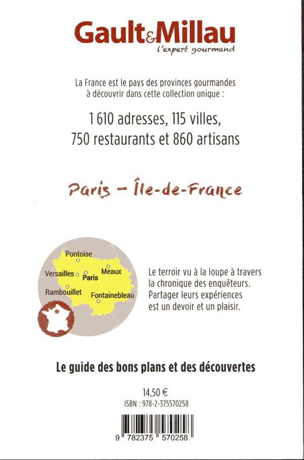 provinces gourmandes ; Paris-Île-de-France