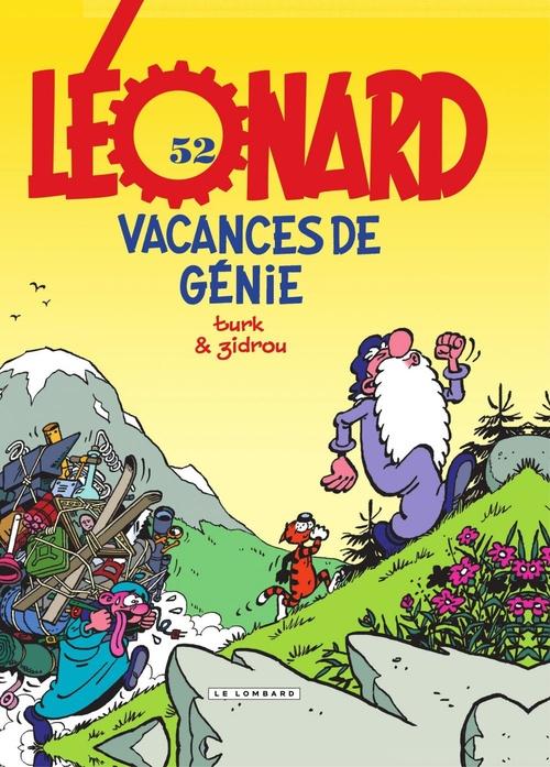 Léonard t.52 ; vacances de génie