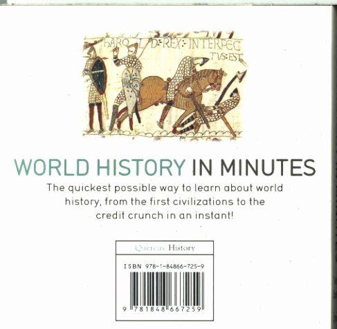 WORLD HISTORY IN MINUTES - 200 KEY EVENTS EXPLAINED IN AN INSTANT