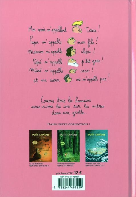 Petit Sapiens t.4 ; Mademoiselle Lune