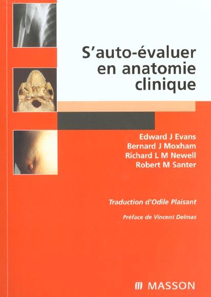 S'Autu-Evaluer En Anatomie Clinique