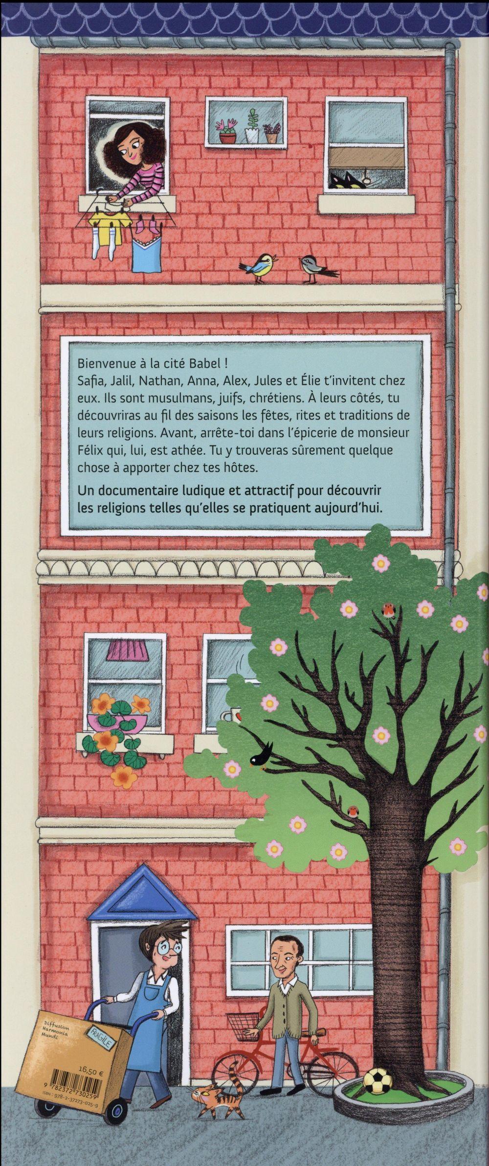 Cité Babel ; le grand livre des religions