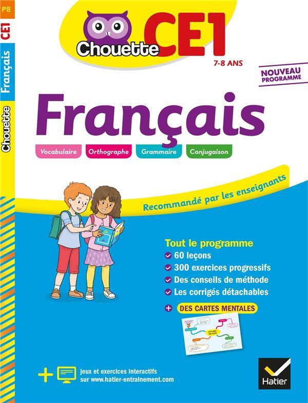 Chouette entraînement ; français ; CE1